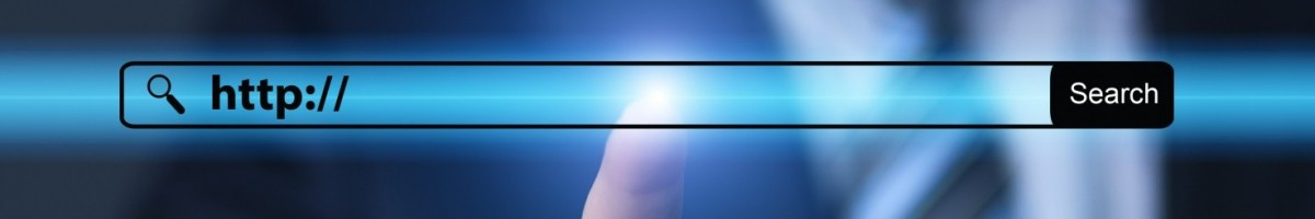 http:// written in search bar on virtual screen